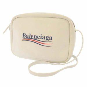 バレンシアガ ショルダーバッグ エブリディ ホワイト 489812