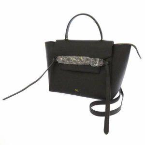 セリーヌ ハンドバッグ ブラック ベルトバッグ 18915